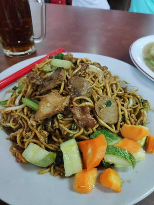 Foto 3 - Makanan(Bakmie Goreng Sapi) di Kwetiau Sapi Agap 88 oleh Lulu Lusiana