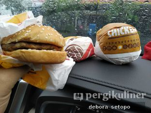 Foto review Burger King oleh Debora Setopo 5