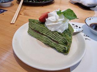 Foto 3 - Makanan(Matcha mille crepe) di Furusato Izakaya oleh Vising Lie