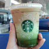 Foto Matcha espresso fusion di Starbucks Coffee