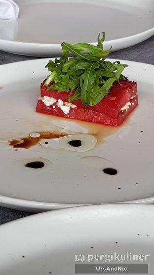 Foto 2 - Makanan(Grilled Watermelon Salad) di Altitude Grill oleh UrsAndNic