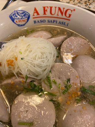 Foto 2 - Makanan di A Fung Baso Sapi Asli oleh Duolaparr