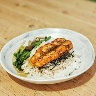 Foto 1 - Makanan(Salmon teriyaki) di Kohicha Cafe oleh foodstory_byme (IG: foodstory_byme)