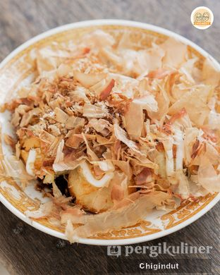 Foto 4 - Makanan(Takoyaki) di Japan Ramen Nihon Maru oleh Chigindut Youtuber