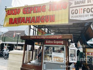 Foto review Bakso Gepeng Rawamangun (Bakso Apotek Rini) oleh Icong  1
