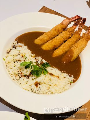 Foto 1 - Makanan(brown curry with prawn) di Go! Curry oleh Sienna Paramitha