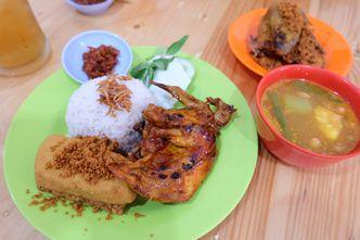 Foto Makanan di Ayam Goreng Borobudur