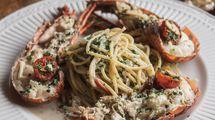 Spaghetti Lobster, menu rekomendasi di Mangiamo Buffet Italiano
