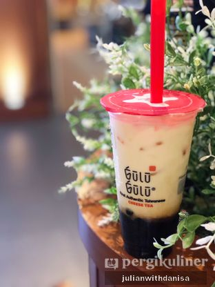 Foto - Makanan(Brown Slurppy Bobba Fresh Milk) di Gulu Gulu oleh Julian with danisa