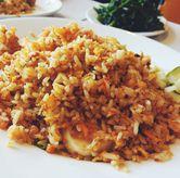 Foto nasgor seafood di D' Cost