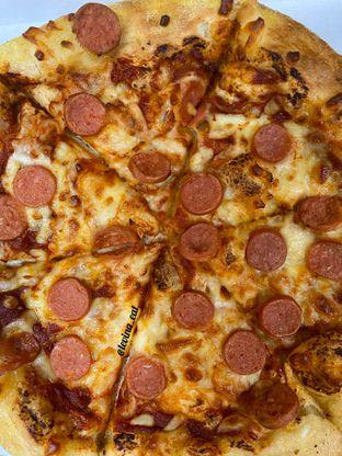 Foto review Domino's Pizza oleh Levina JV (IG : levina_eat ) 3