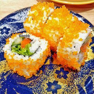 Foto 15 - Makanan(fish roe flying chumaki) di Kappa Sushi oleh duocicip