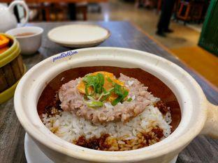 Foto 1 - Makanan(Claypot Rice with minced Pork(🐷) and salted egg) di Lamian Palace oleh Stefanus Mutsu