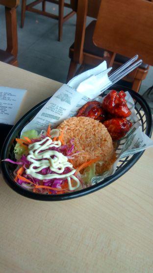 Foto 3 - Makanan(Rice Combo (IDR 58k) ) di Wingstop oleh Renodaneswara @caesarinodswr