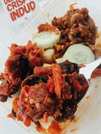 Foto Makanan di Dendeng Crispy Indud