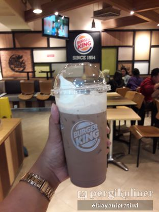 Foto review Burger King oleh eldayani pratiwi 2
