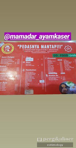 Foto 3 - Menu di Mamadar Ayam Kaser oleh EATIMOLOGY Rafika & Alfin