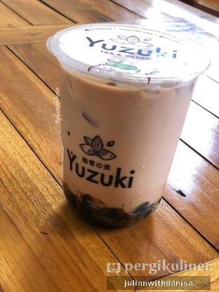 Foto - Makanan(Dirty Boba Milk Tea) di Yuzuki Tea oleh Julian with danisa
