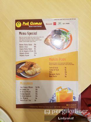 Foto 3 - Menu di Pak Qomar - Bebek & Ayam Goreng oleh Ladyonaf @placetogoandeat