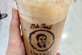 Foto Teh Tarik Uncle G