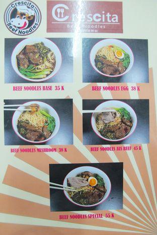 Foto 4 - Menu di Crescita Beef Noodles oleh Kuliner Addict Bandung