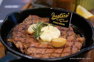 Foto 1 - Makanan(US Black Angus Rib Eye Steak) di Justus Steakhouse oleh @kulineran_aja