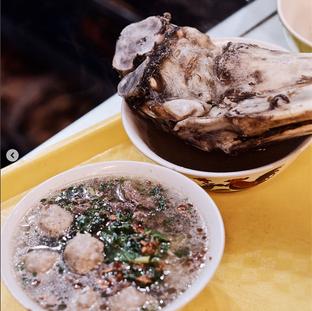 Foto 2 - Makanan(bakso bulungan) di Baso T-Sum Sum Mejiku oleh zaky akbar