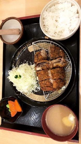 Foto 1 - Makanan(Beef Katsu Set) di Kimukatsu oleh Riris Hilda