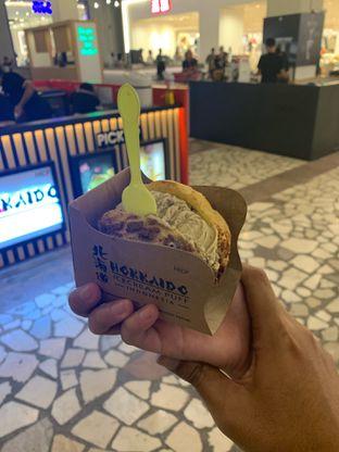 Foto 1 - Makanan di Hokkaido Icecream Puff oleh hokahemattiga