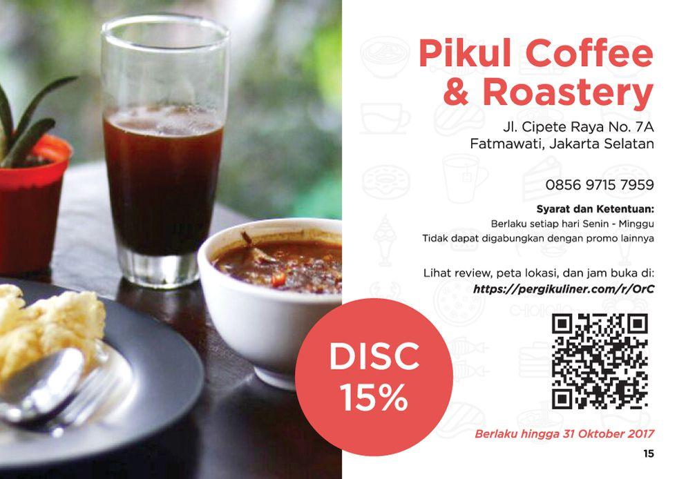 15% - MEMO dari PergiKuliner di Pikul Coffee & Roastery, Fatmawati