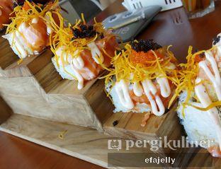 Foto 1 - Makanan(Salmon Ebi Mentai) di Housaku Sushi & Bento oleh efa yuliwati