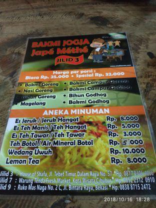 Foto review Bakmi Jogja Jape Methe oleh Hariyadi Bemby 2