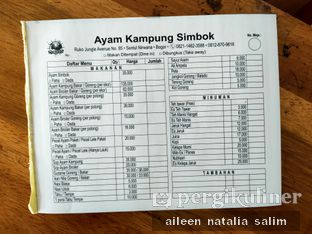 Foto review Ayam Kampung Simbok oleh @NonikJajan  4