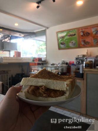 Foto Makanan di Sandwich Bakar