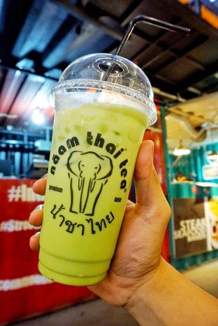 Foto - Makanan(Thai Ice Green Tea) di Naam Thai Tea oleh Belly Culinary