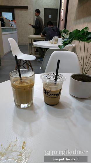 Foto 3 - Makanan(Cappuccino Ice dan Karamelo Latte) di Karamelo Coffee oleh Saepul Hidayat