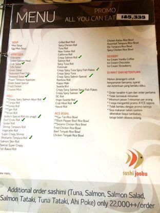 Foto 1 - Menu di Sushi Joobu oleh Aghni Ulma Saudi