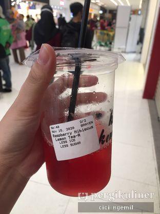 Foto 1 - Makanan(Raspberry Hibiscus Lemon Tea) di Kopi Kenangan oleh Sherlly Anatasia @cici_ngemil