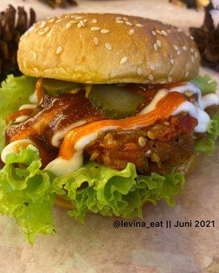 Foto 3 - Makanan di Burger Recieh oleh Levina JV (IG : @levina_eat & @levinajv)