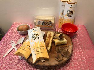 Foto 1 - Makanan di Kebab Durian Becek oleh Levina JV (IG : levina_eat )