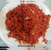 Foto Nasi Goreng Merah (Dari Atas) di RM Irtim Makassar