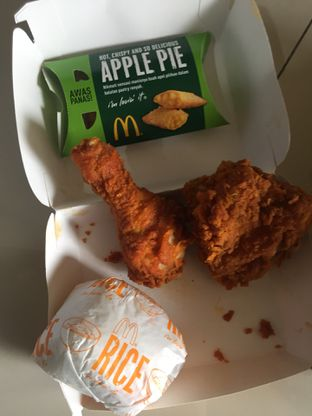Foto 1 - Makanan di McDonald's oleh @Itsjusterr