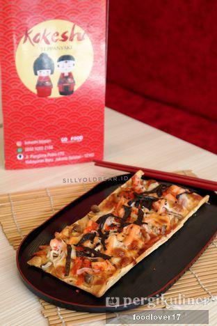 Foto 9 - Makanan(Seafood Japanesse Pizza) di Kokeshi Teppanyaki oleh Sillyoldbear.id
