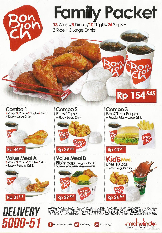 bonchon menu indonesia