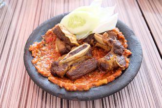 Foto Makanan di Warung Bu Kris