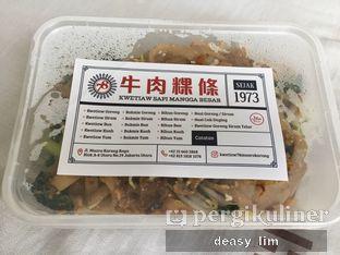 Foto 2 - Makanan di Kwetiaw Sapi Mangga Besar 78 oleh Deasy Lim