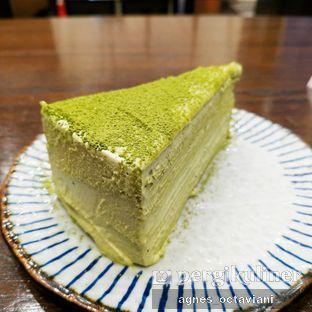 Foto - Makanan(Inari Torii Matcha Mille Crepes Cake) di Amausaan Uji Matcha oleh Agnes Octaviani