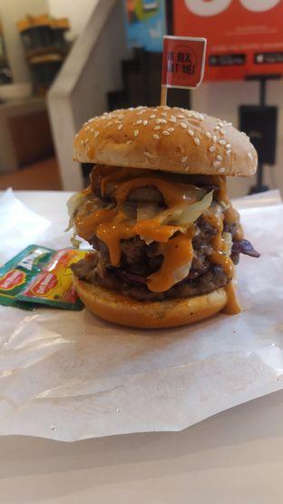 Foto review Burger Rex oleh Tristo  1
