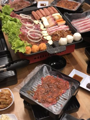 Foto review Bak Bak Korean BBQ oleh BiBu Channel 1