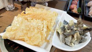 Foto 5 - Makanan(kulit tahu & kulit ikan) di Fire Pot oleh Komentator Isenk